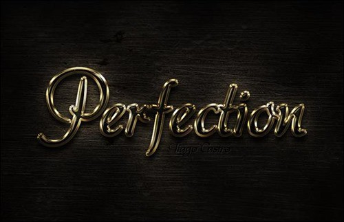 Perfect-Gold-Text-Effect-in-Photoshop