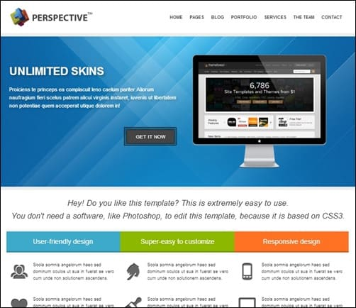 Perspective-drupal-7-themes