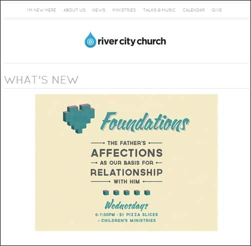 River-City-Church-church-websites