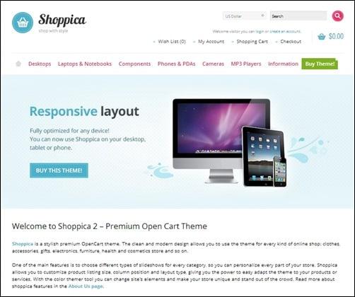 Shoppica-opencart-templates