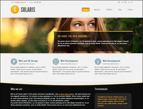 Solaris-drupal-themes