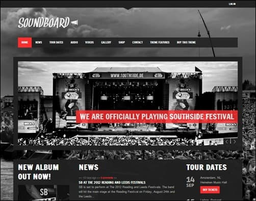 Soundboard-wordpress-musician-theme
