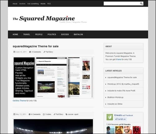 Squared-Magazine best tumblr themes