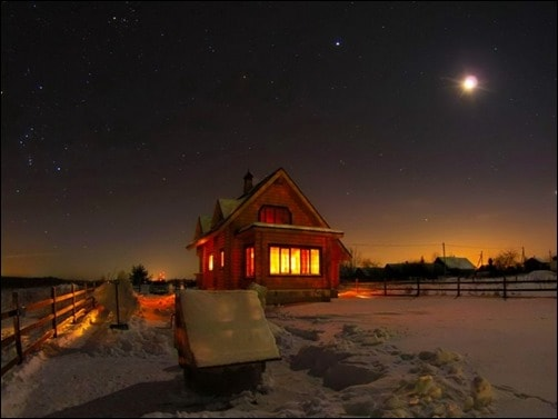 Starry-Winter-Night-winter-desktop-wallpaper
