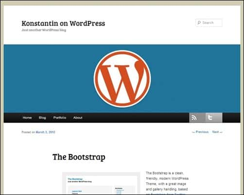 The-Bootstrap-simple-wordpress-themes