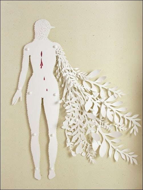 The-Wound-paper-art
