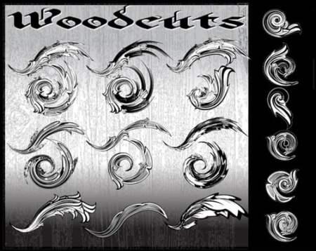 WOODCUTS-AI-Flourish-Pack-illustrator-brush