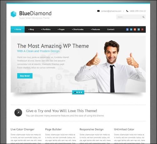 blue-diamond-wordpress-business-themes