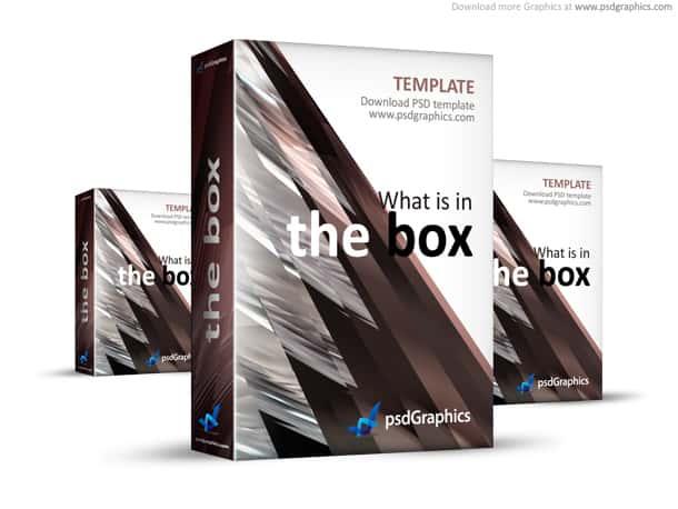 brown box template