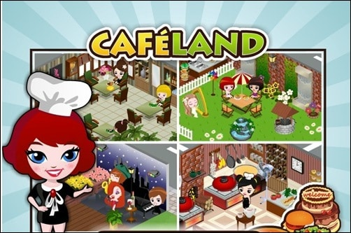 cafeland addictive facebook games