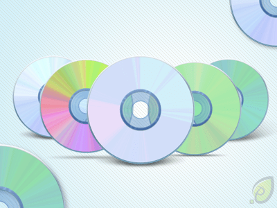 CD – DVD Icons