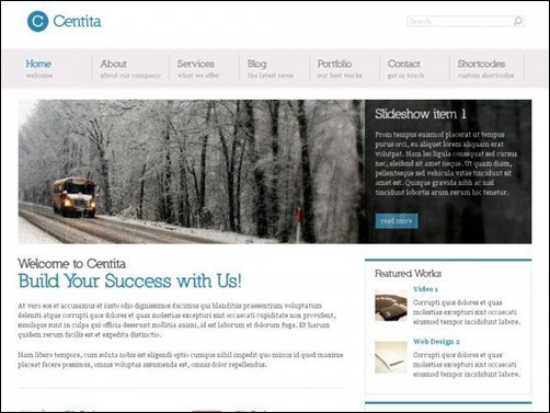 centita Simple WordPress Themes