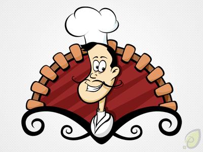 Cook illustration – vector psd
