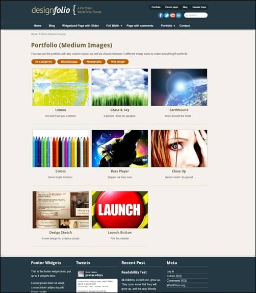 design-folio-portfoio-wordpress-theme