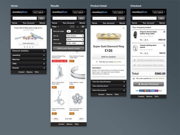 Ultimate M-Commerce Website Design