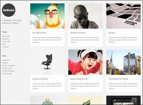 gridlocked-portfolio-theme