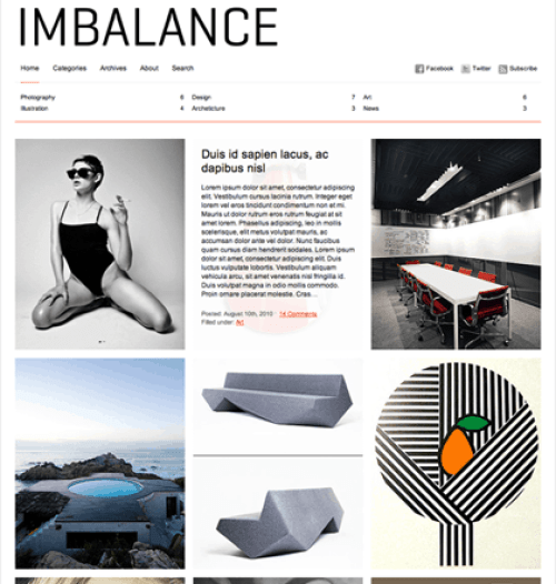 imbalance-theme photography template