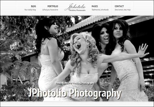 jpphotolio WordPress Photography Themes