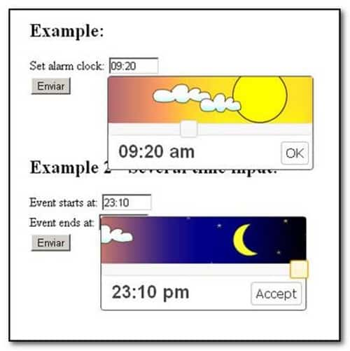 jquery-time-picker