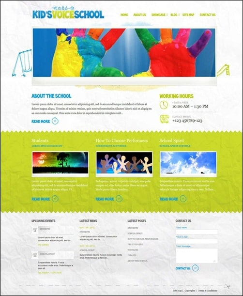 kids-voice-wordpress-theme