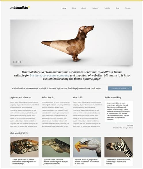 minimalisto-wordpress-theme