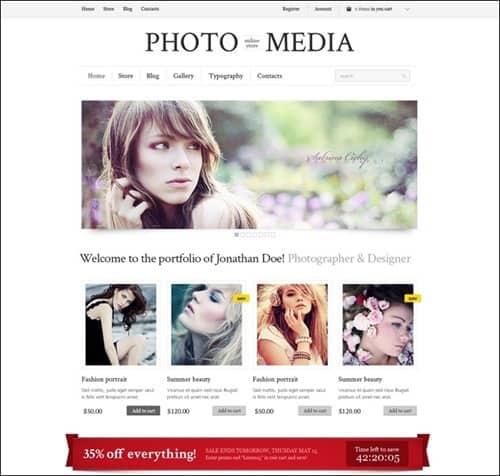 phomedia WordPress ecommerce themes