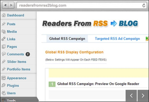 readers from rss