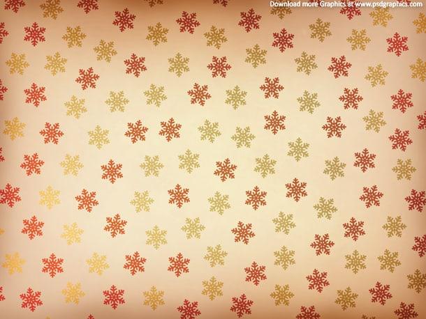 retro snowflake