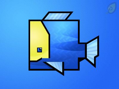 Square Fish Icon