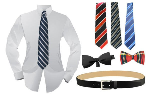 Dressed for Business Vector Clothing