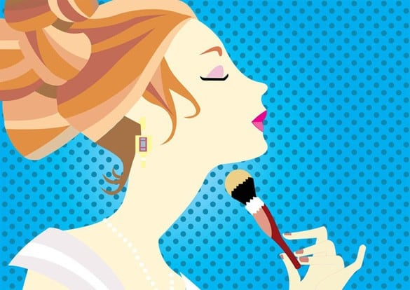 Cosmetic Beauty Fashion Woman Illustration