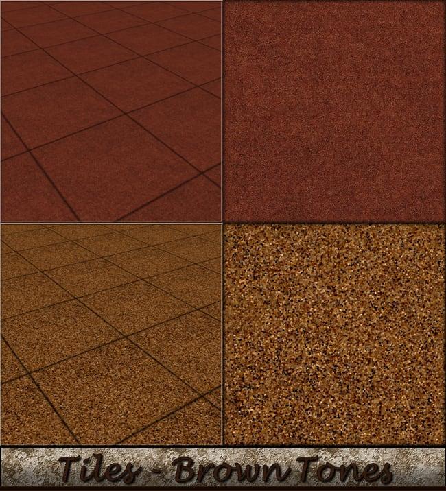 Tiles - Brown Tones