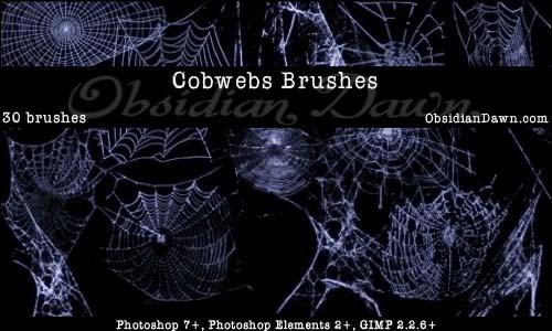Cobwebs_Photoshop_Brushes_by_redheadstock