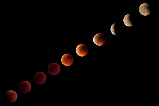 Eclissi solare del 15062011 - Time lapse