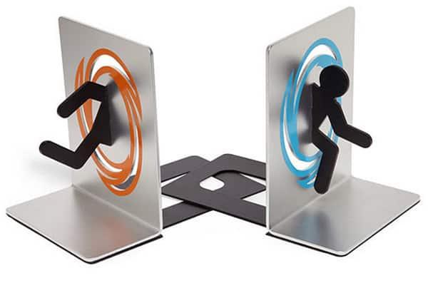 Portal Bookends ($29.99)
