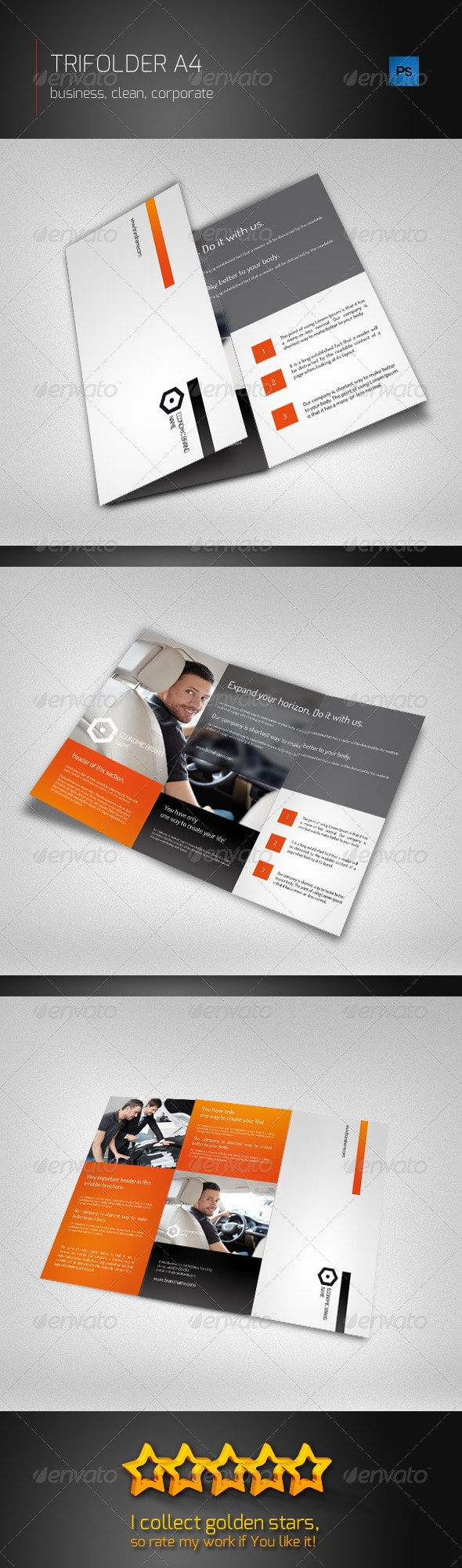 Trifolder Business Brochure