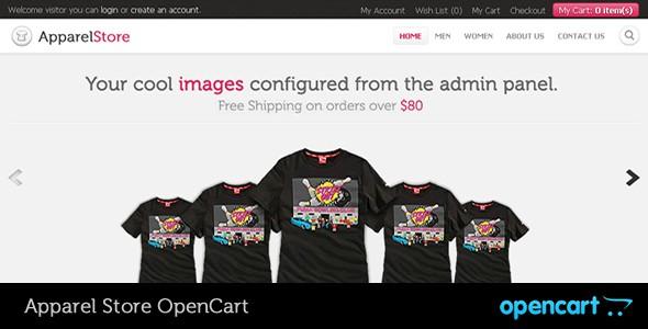 Apparel OpenCart Theme