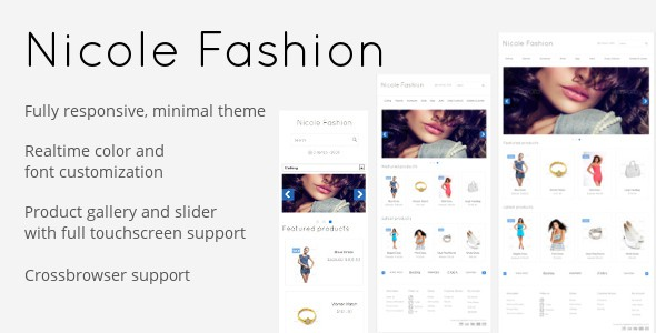 Nicole Fashion OpenCart Premium Theme