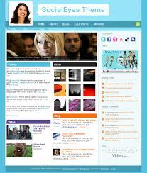 (M) Social WordPress theme