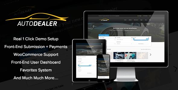 autodealer- car dealer premium wordpress theme