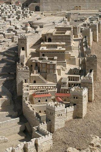 3d Wallpaper Shaft Map Of Jerusalem