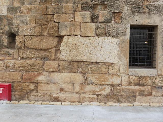 Sacophagus in wall