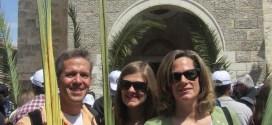Palm Sunday procession - Photo: http://huntsmansintheholyland.blogspot.co.il/