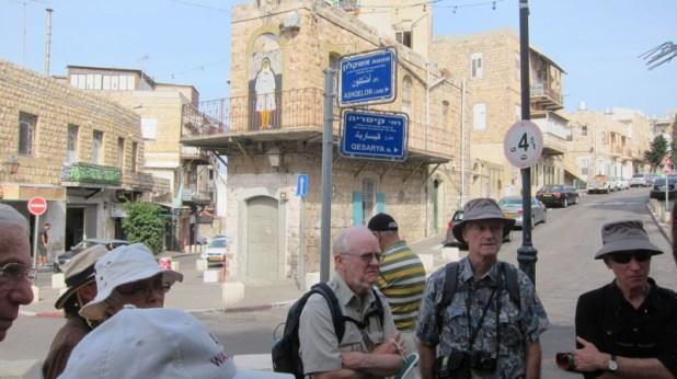 Haifa is in Israel
