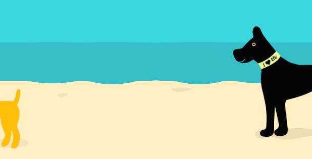 a beach in tel aviv