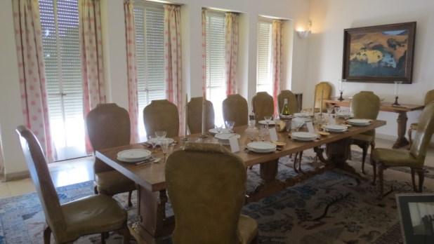 Weizmann Dining Room