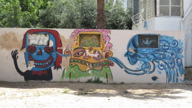 Graffiti Tourism in Tel Aviv - Jaffa