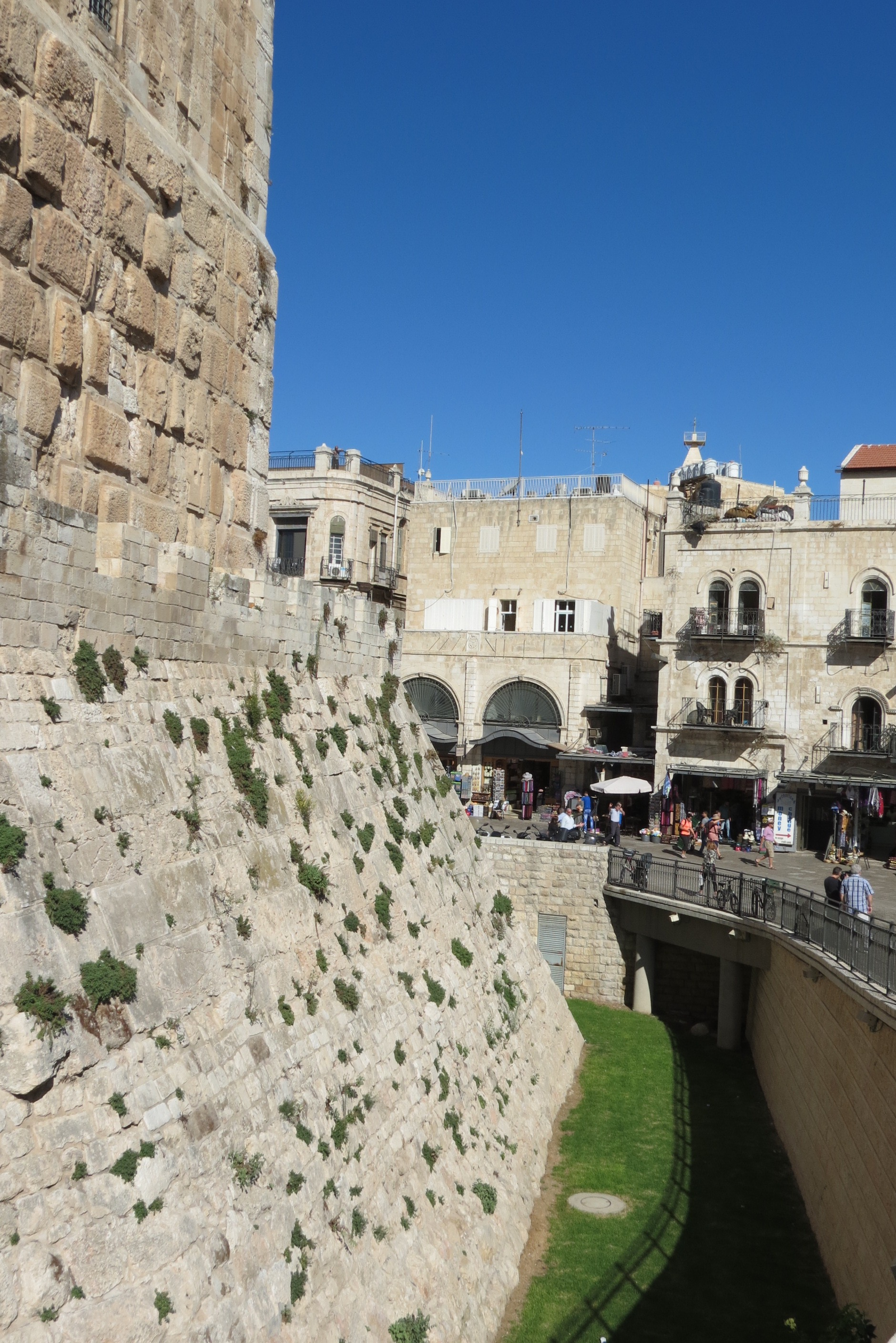 David's Citadel from Jaffa Gate