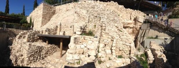 City of David Area G - King David's Palace ?