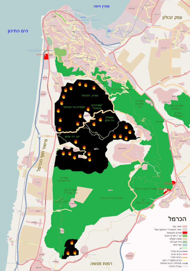 Carmel_Map_-_December_5,_2010 מתניה - יוצרMA1988